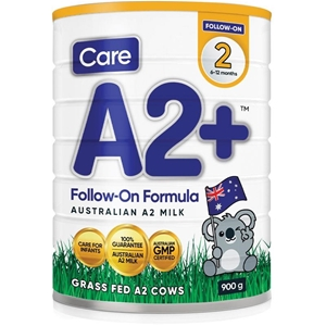 Care A2 + Stage 2 Baby Formula (1x 900g