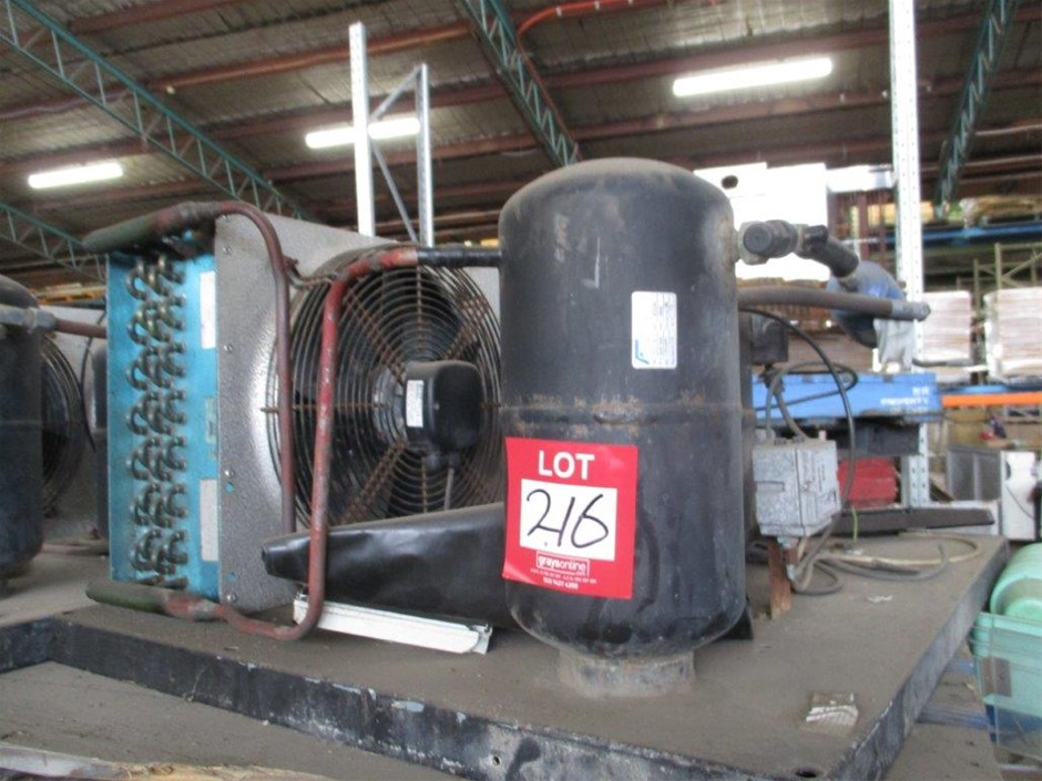 Patton Fridge Compressor - Twin Fans