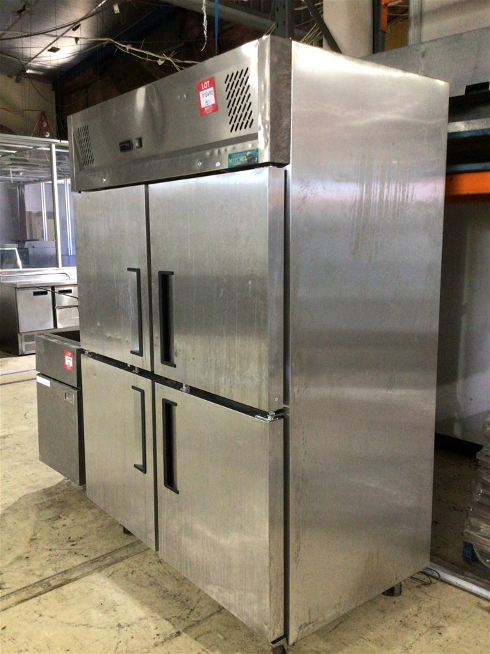 Mitchel Refrigeration 1175GNR Commercial Freezer on Castors