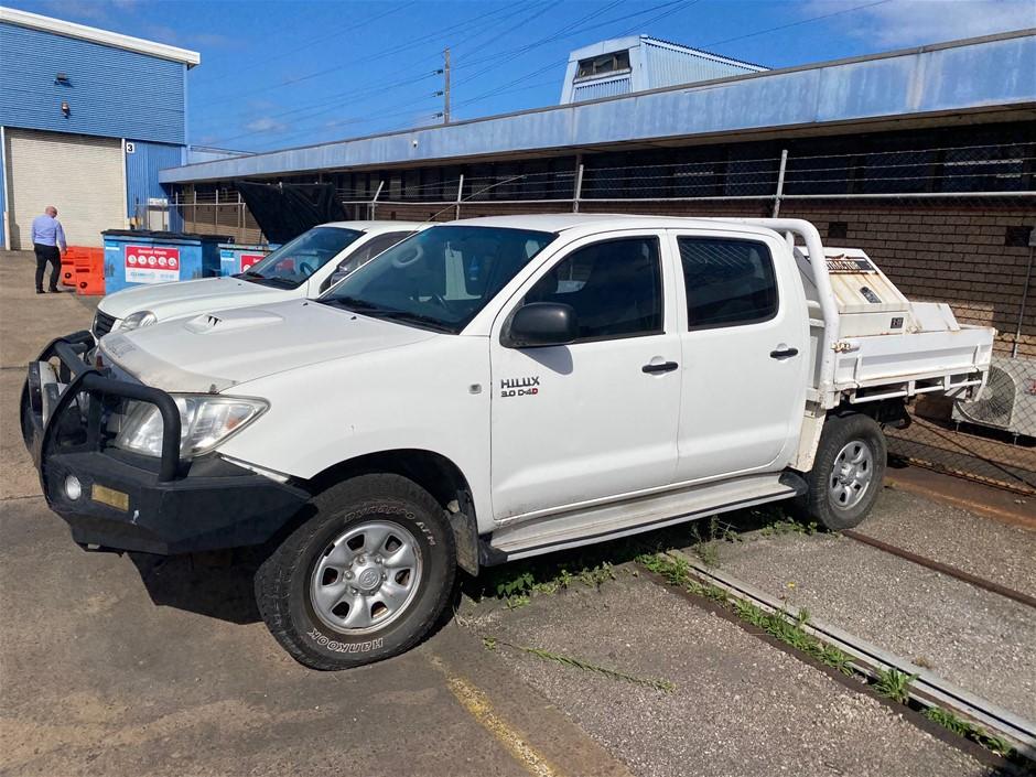 Toyota Hilux SR Dual Cab Utility Ute