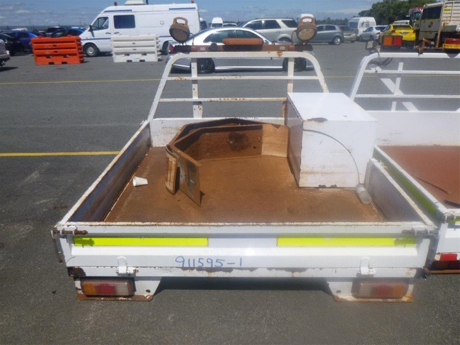 Ute Tray with Drop Sides