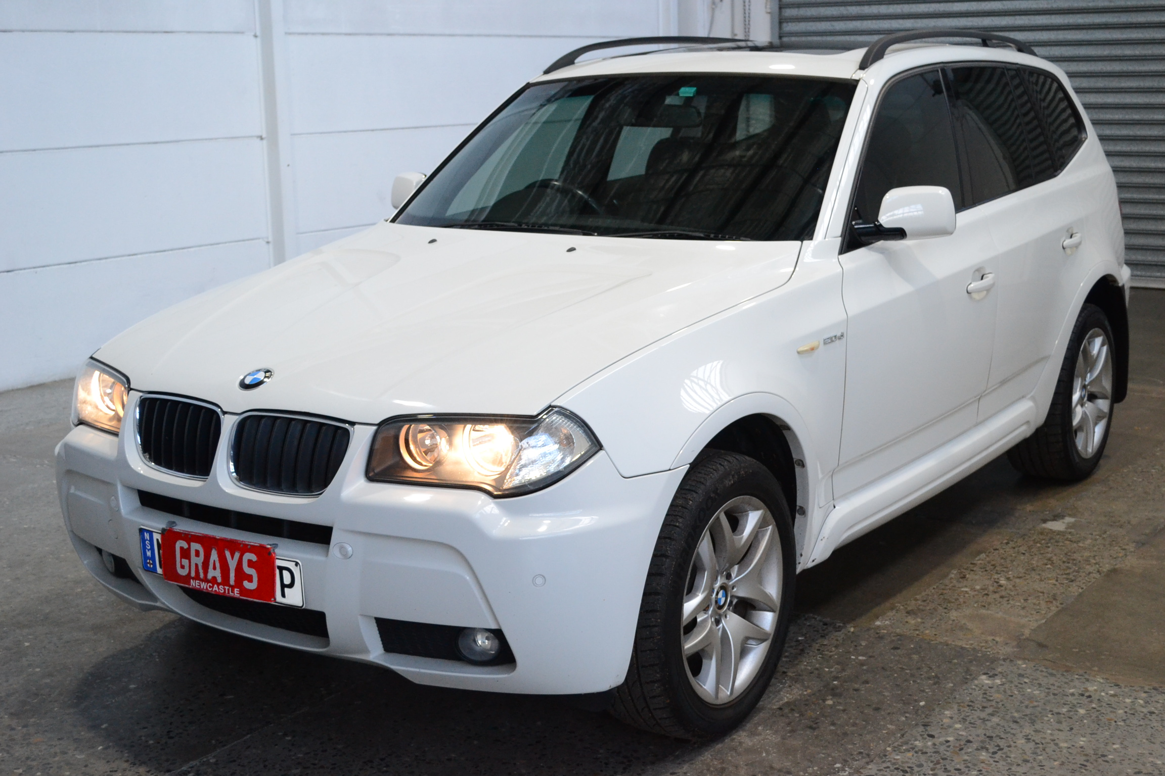 2008 BMW X3 2.0d E83 Turbo Diesel Automatic Wagon