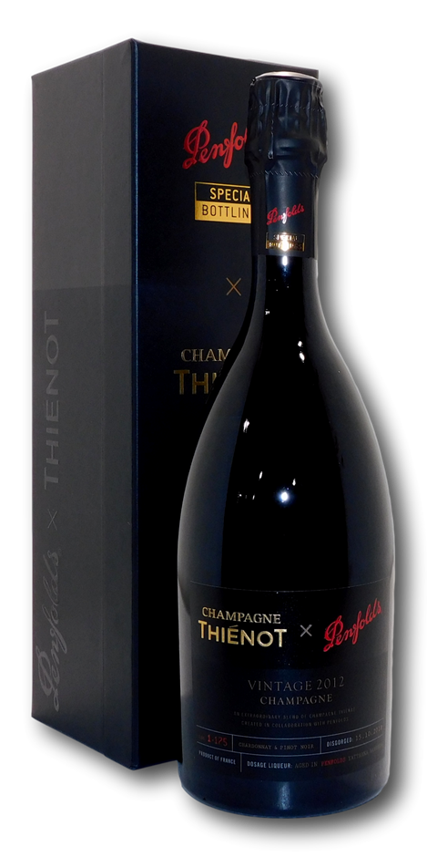 Penfolds Thienot Special Bottlings Champagne 2012 (1 x 750mL), France