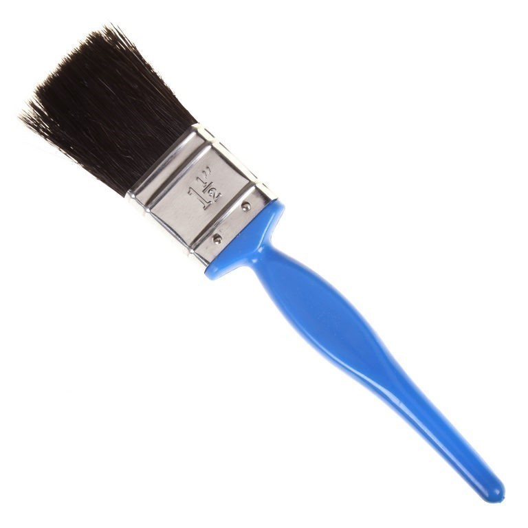 12 x BERENT Paint Brushes 38mm, 30% Bristle, 70% Synthetic. Buyers Note - D