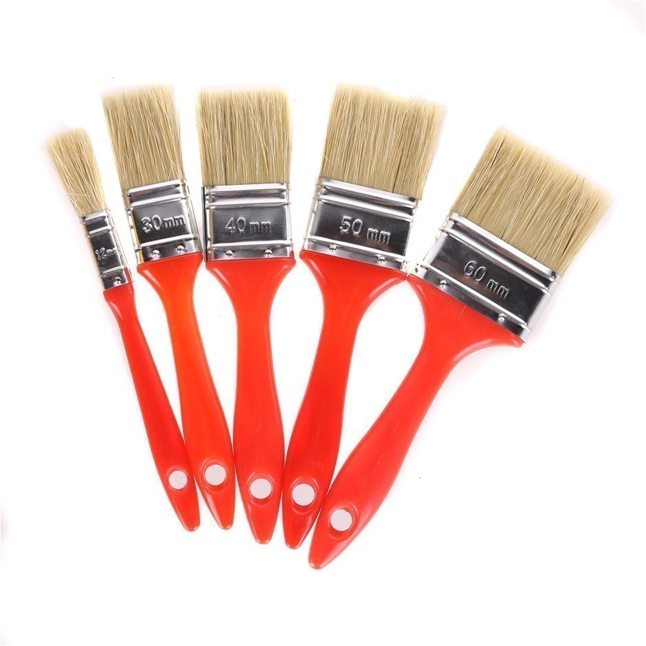 5 Sets of 5 x Paint Brushes Sizes : 12mm, 30mm, 40mm, 50mm & 60mm. Buyers N