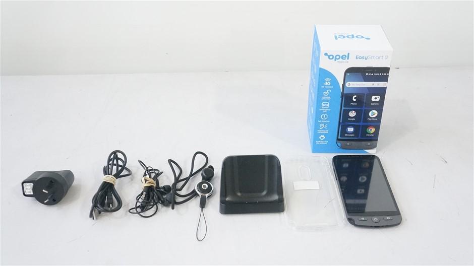 Opel EasySmart 2 4G 8GB 5-Inch Mobile Phone, Grey