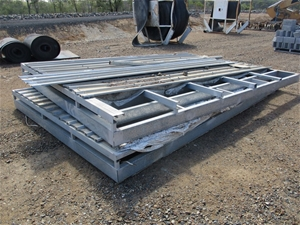 Qty 2 x Roofing Sections - Steel