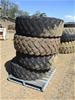 Qty 4 x 17.5 R25 Grader Tyres