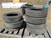 Qty 7 x Truck Tyres 275/70R22.5