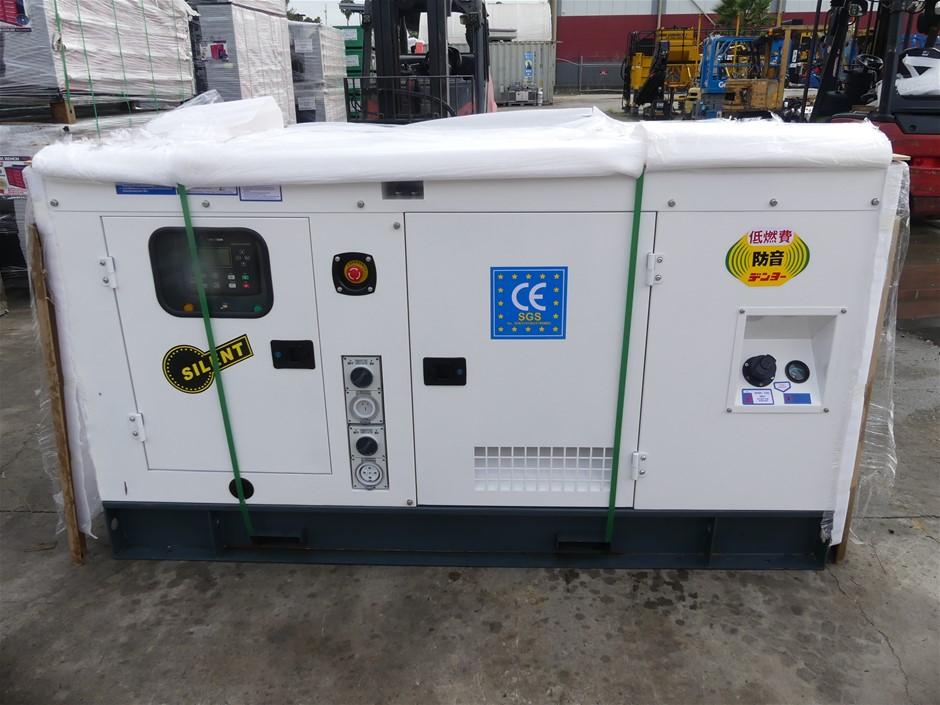 Unused Ashita AG3-30 Sound Proof Generator