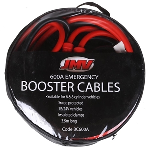 JMV 600amp Heavy Duty Battery Booster Ca