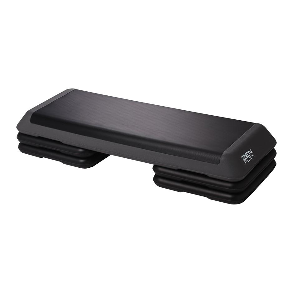 Zen Flex Fitness Height Adjustable Aerobic Stepper and Bench 43x110x22cm
