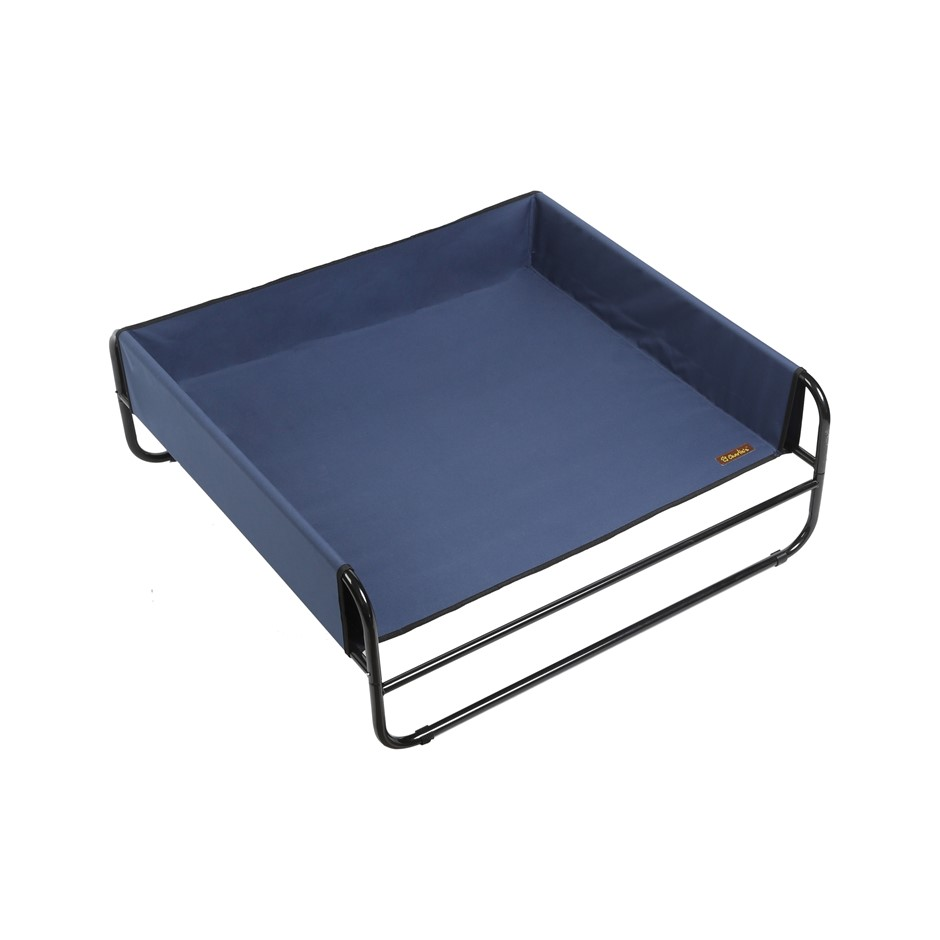 Charlie's Pet High Walled Outdoor Trampoline Pet Bed Cot - 100x100x38cm