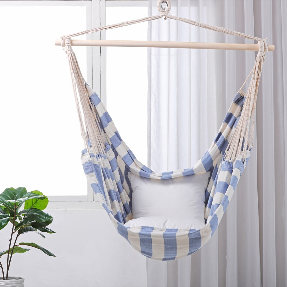Sherwood Home Indoor and Outdoor Hammock Chair Swing - Large 125x185cm