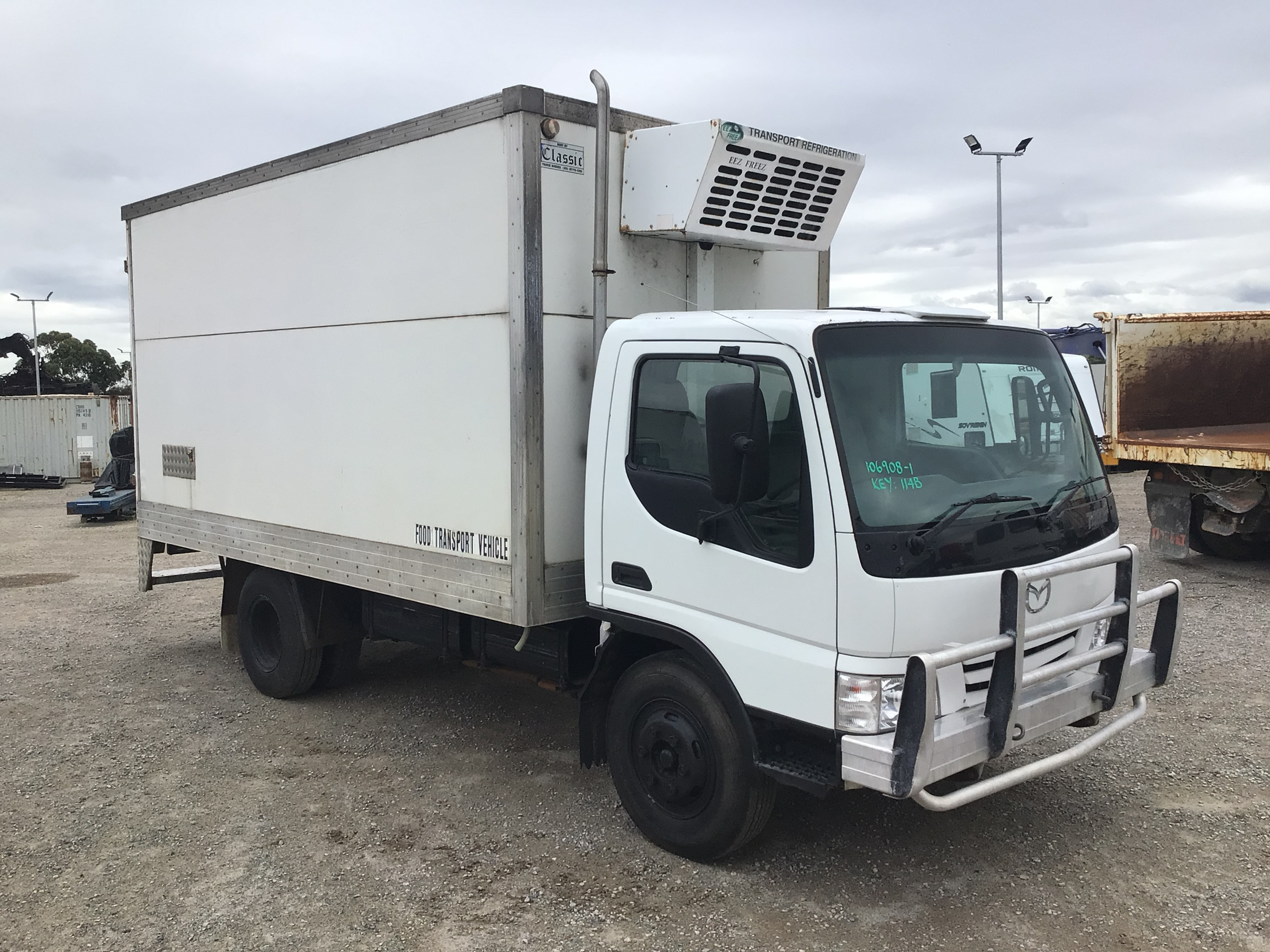 2001 Mazda T4600 4 x 2 Refrigerated Body Truck