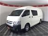 2016 Toyota Hiace SLWB KDH221R Turbo Diesel Automatic Van