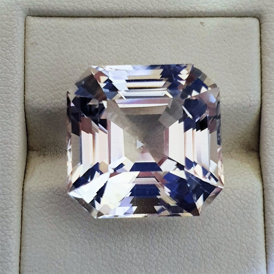 One Loose Brown Topaz, 46.05ct in Total