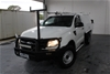 2014 Ford Ranger XL 4X2 Hi-Rider PX Turbo Diesel Automatic Cab Chassis