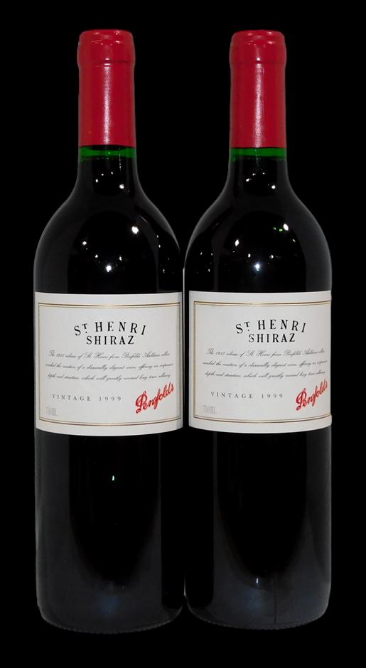 Penfolds St Henri Shiraz 1999 (2x 750mL), SA