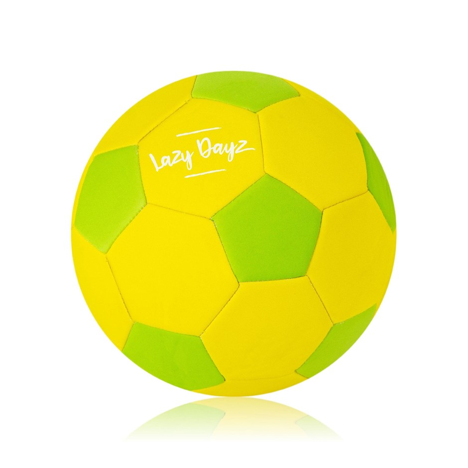 Beach Soccer Ball Outdoor Inflated Neoprene Game Sports Summer Toys GREEN