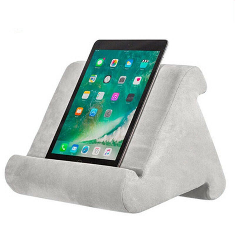 Lightweight Tablet Pillow Stand For iPad Book Holder Rest Lap Reading