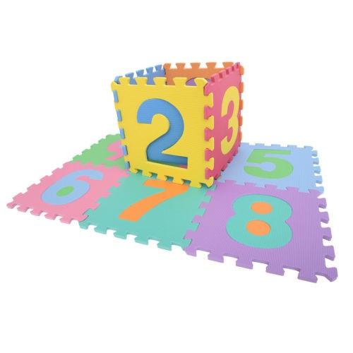 36 PCS Kids Baby Alphabet/Number/Color Interlocking EVA Foam Floor Mat
