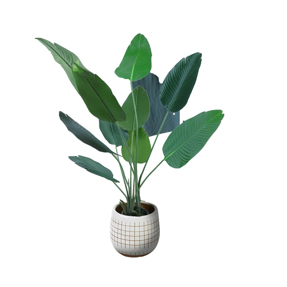 160cm Faux Artificial Potted Bird of Paradise Plant TropicalPalm In/Outdoor