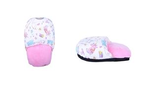 Jumbo Foot Warmer Shoes Feet Pink Unicor