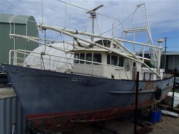 16m Commercial Fishing Vessel - Trawler – Nadia