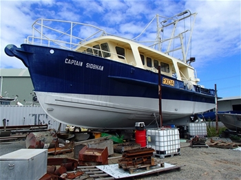 16m Commercial Fishing Vessel – Trawler – Captain Siobhan