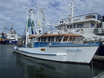 13m Commercial Fishing Vessel – Trawler – Captain Chris