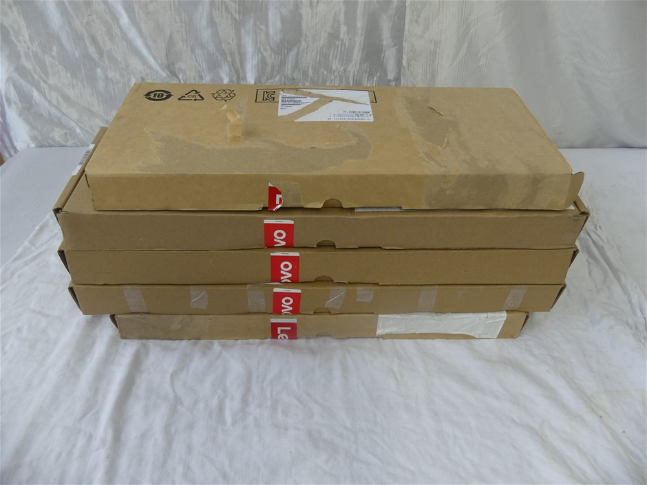 Box of USED/UNTESTED Lenovo Keyboards and Mice