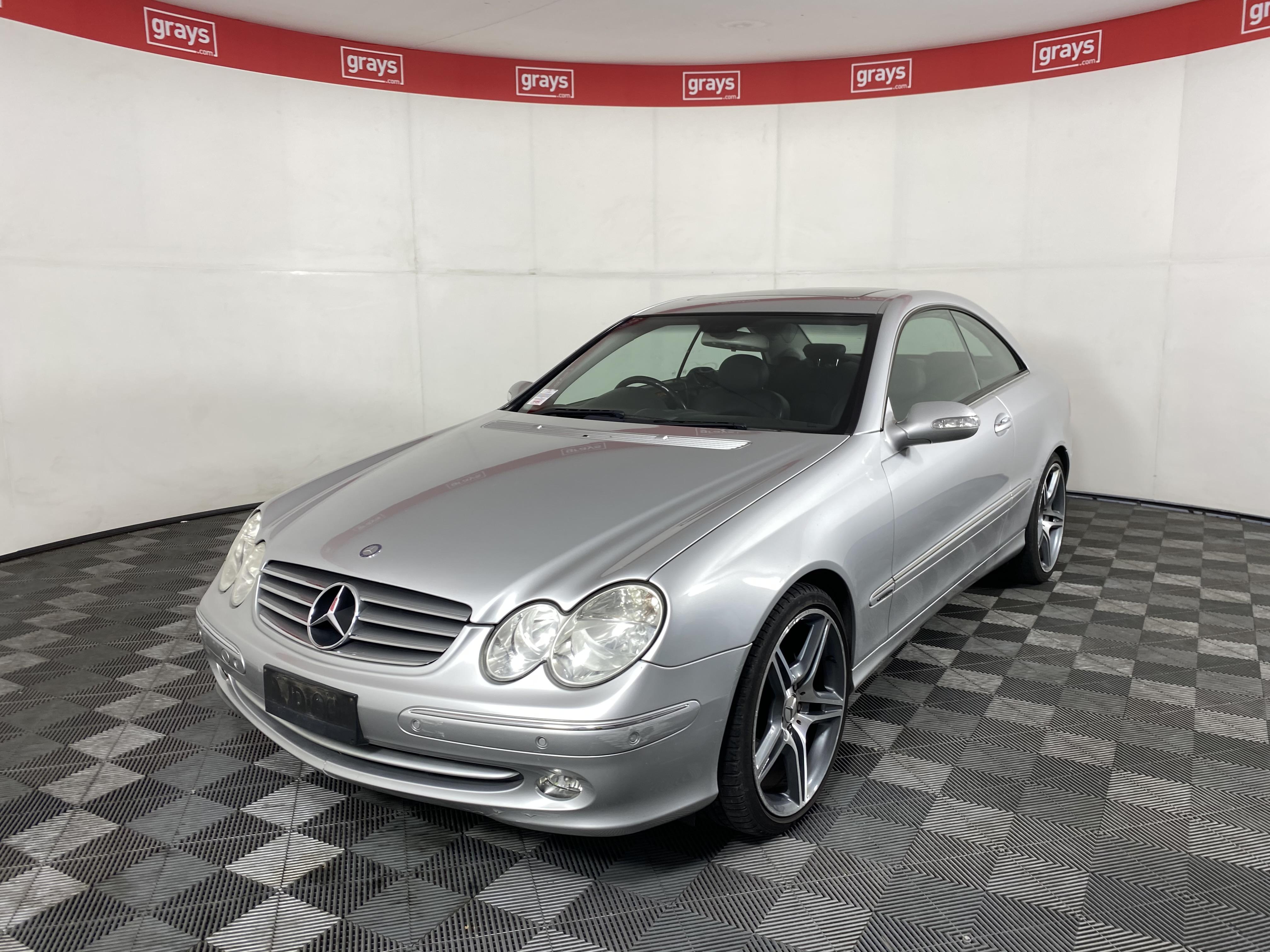 2004 (2005) Mercedes Benz CLK320 Avantgarde C209 Auto Coupe 117,624km