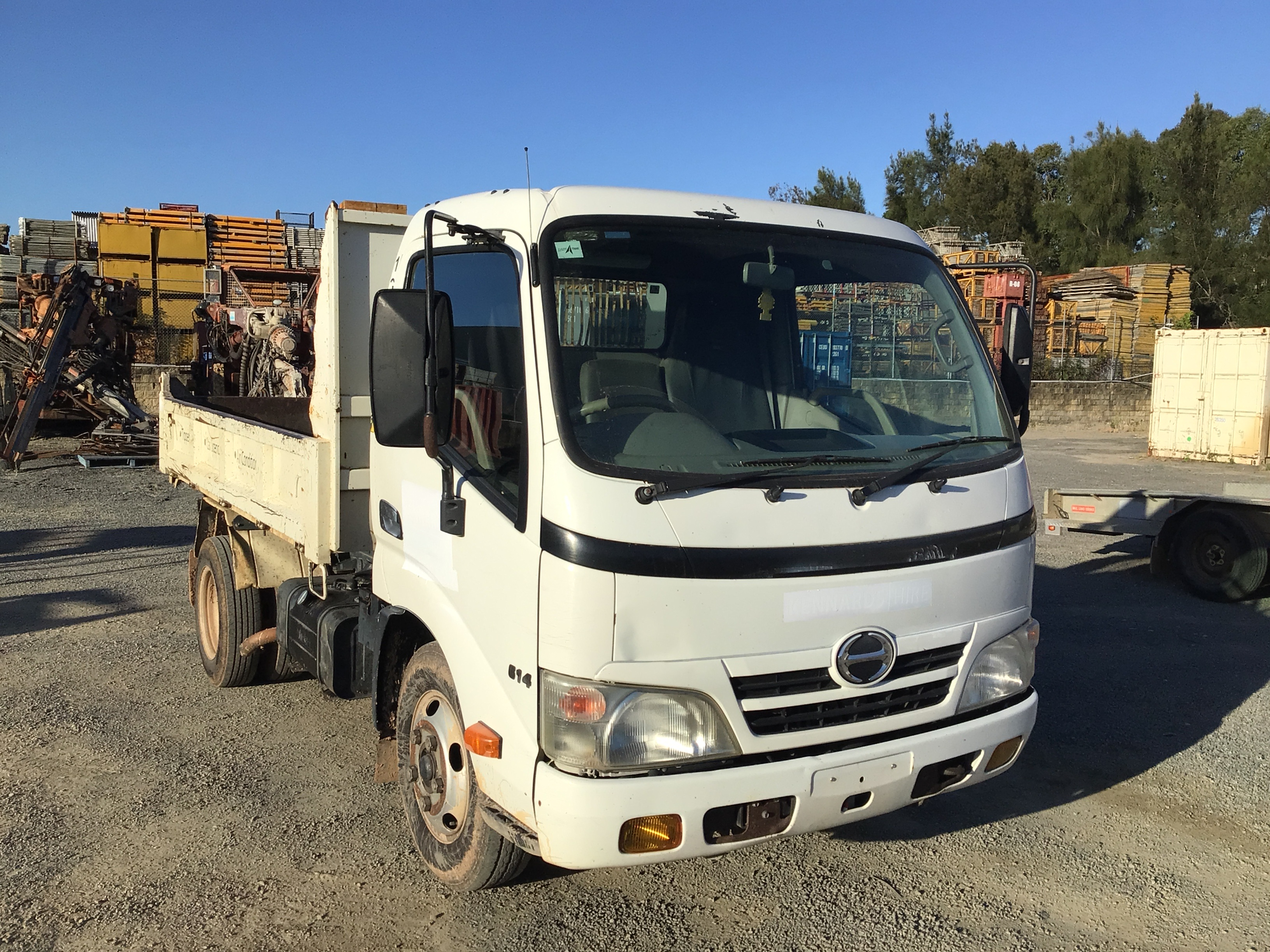 2010 Hino 300 4 x 2 Tipper Truck