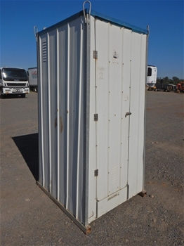 A qty of 8 Clemloo Portable Onsite Unisex Toilet