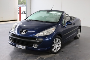 2007 Peugeot 207 CC 1.6 Automatic Conver