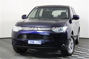 2013 Mitsubishi Outlander ES 2WD ZJ CVT