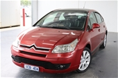 Unreserved 2005 Citroen C4 Exclusive Automatic Hatchback