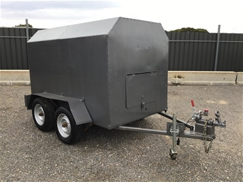 Treg Enclosed 8x5 Tandem Trailer