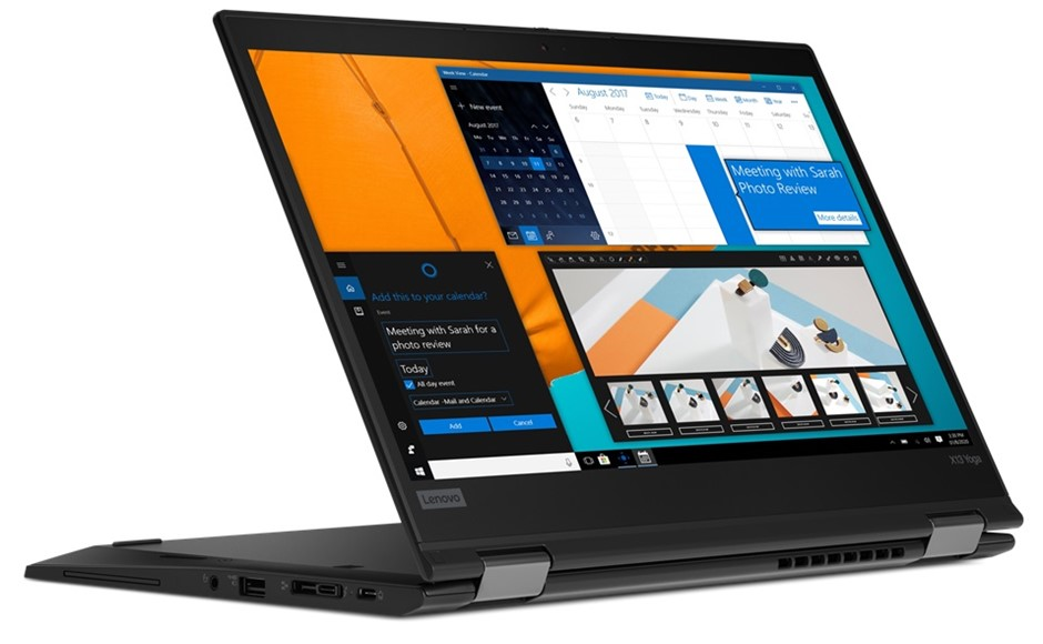 Lenovo ThinkPad X13 Yoga 13.3-inch Notebook, Black