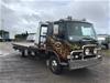 <p>1985 Mitsubishi FK 4 x 2 Tilt Tray Truck</p>