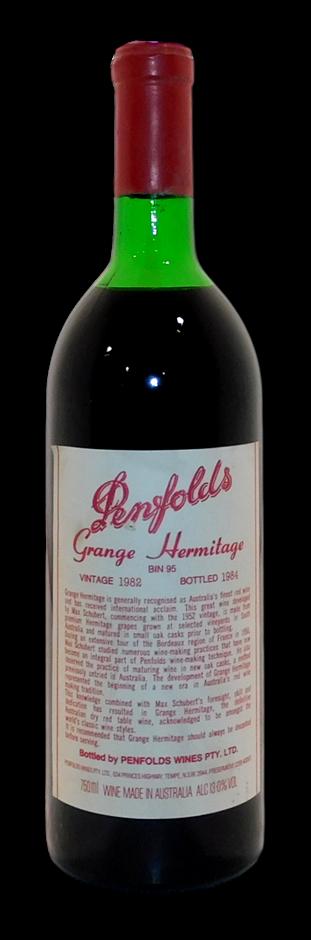 Penfolds Bin 95 Grange 1982 (1x 750mL), SA