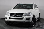 Unreserved 2011 Mercedes Benz ML350 CDI BLUE EFFICIENCY