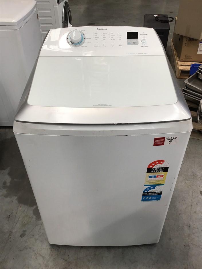 Simpson 'ActiveBoost' 10kg Top Load Washing Machine