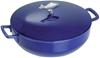 STAUB Bouillabaisse cast iron pot, 28cm, Marine Blue. Buyers Note - Discoun