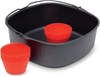 PHILIPS Baking Master Accessory Kit Pan and Silicone Muffin Cups suitable f