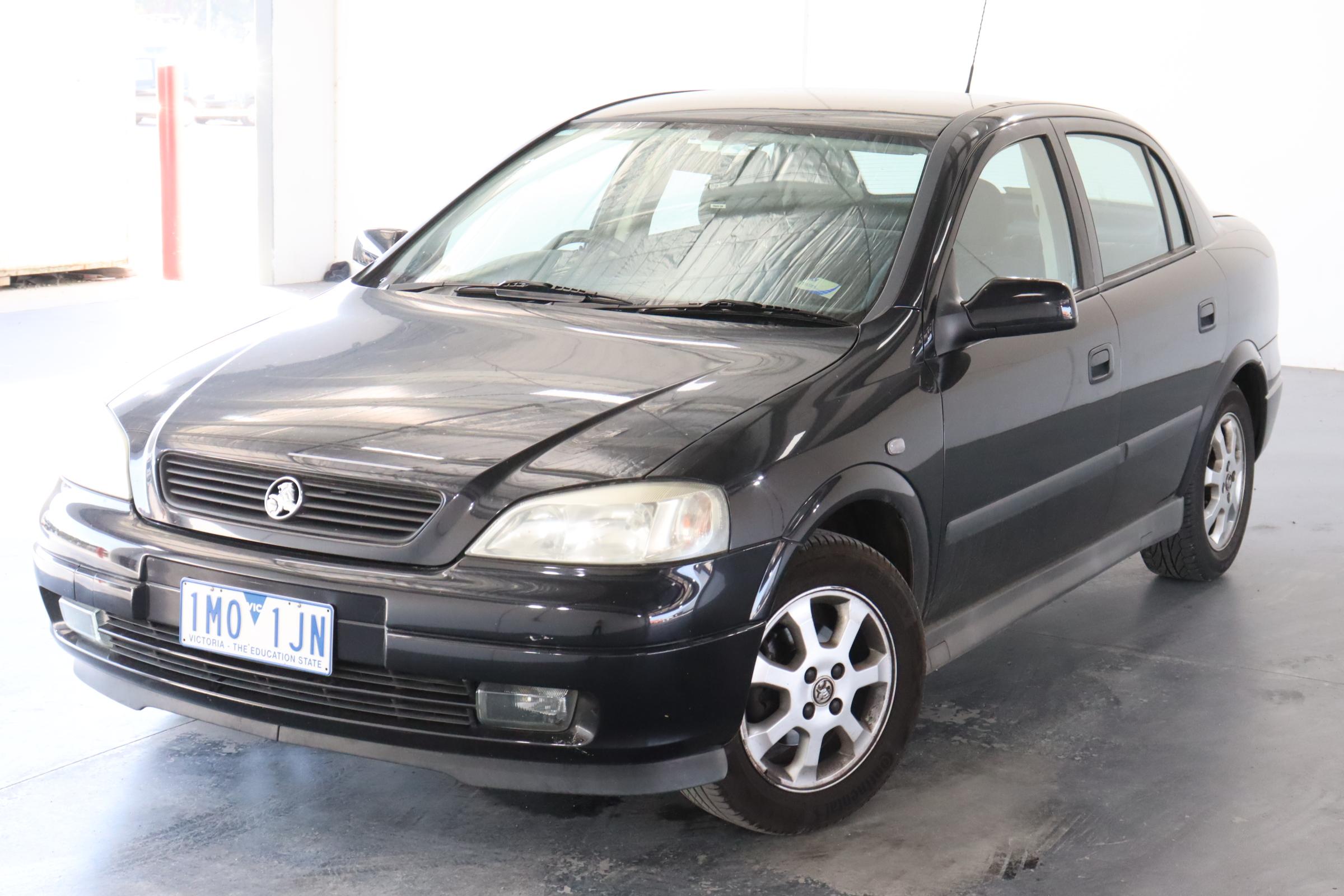 2003 Holden Astra City TS Manual Sedan
