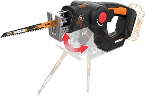 WORX Reciprocating Saw and Jigsaw with O