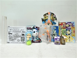 Box of Assorted Kids Toys & Accessories