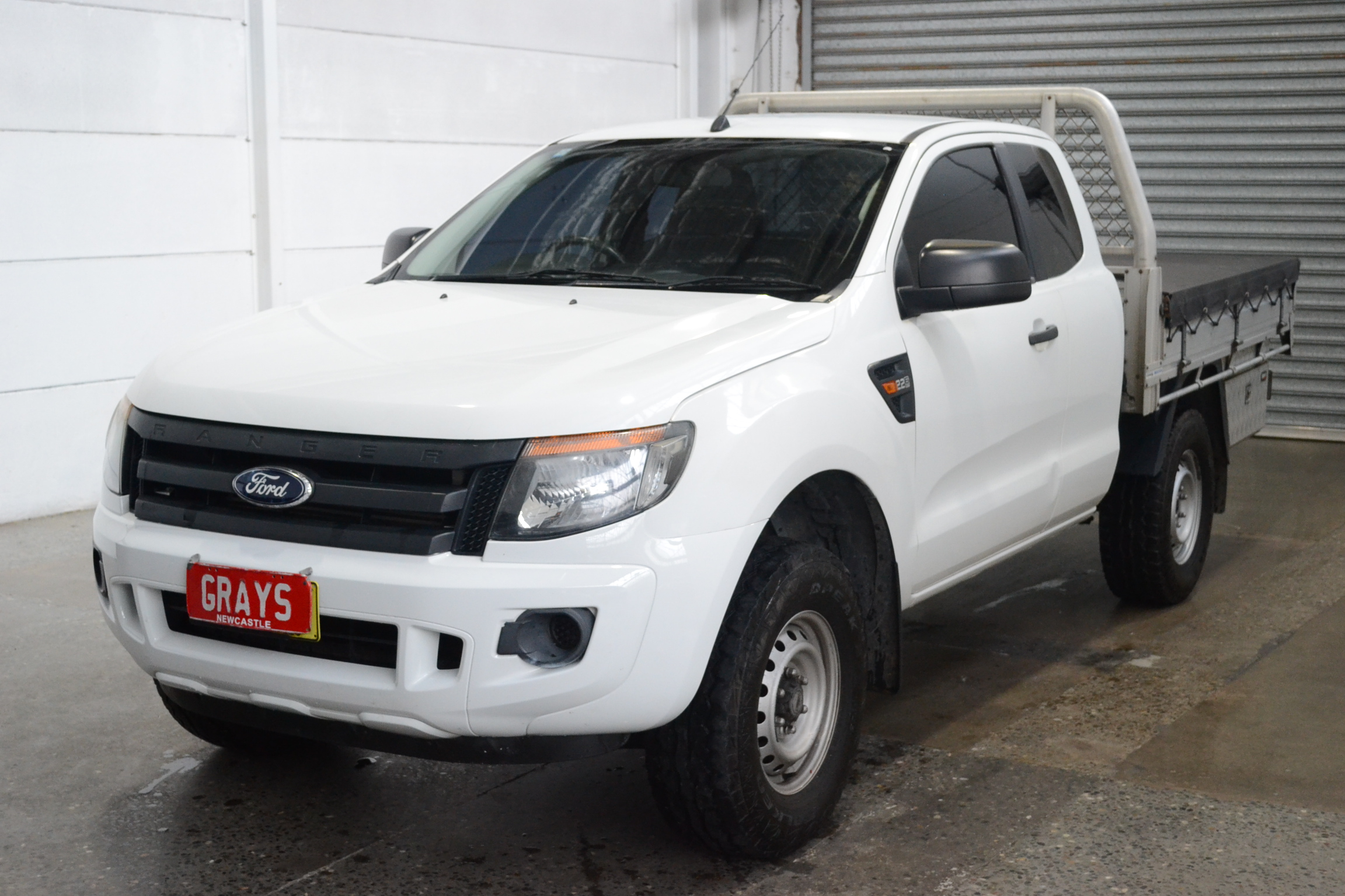 2012 Ford Ranger XL 4X2 Hi-Rider PX Turbo Diesel Automatic Extra Cab
